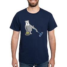 Schnauzer Curling T-Shirt