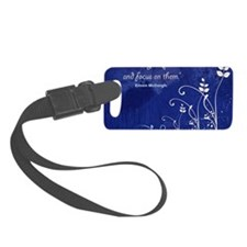 Define your priorities Luggage Tag