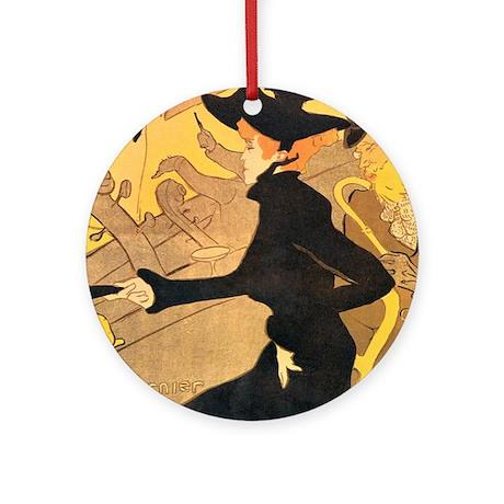 Divan japonais by toulouse lautrec ornament round by for Divan japonais