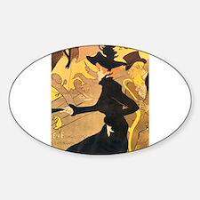 Divan Japonais by Toulouse-Lautrec Decal