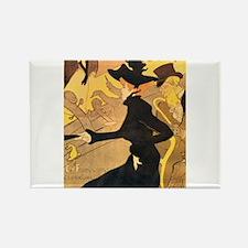 Divan Japonais by Toulouse-Lautrec Magnets