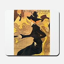 Divan Japonais by Toulouse-Lautrec Mousepad