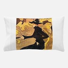 Divan Japonais by Toulouse-Lautrec Pillow Case