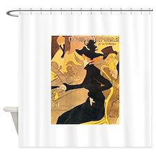 Divan Japonais by Toulouse-Lautrec Shower Curtain