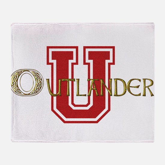 Outlander University Throw Blanket