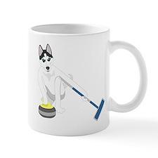 Siberian Husky Curling Mug
