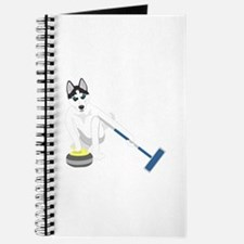 Siberian Husky Curling Journal