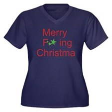 Merry F ing Christmas Plus Size T-Shirt