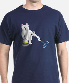 Westie Curling T-Shirt