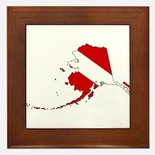 Dive Alaska Framed Tile