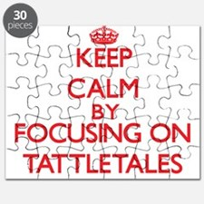 Keep Calm by focusing on Tattletales Puzzle