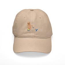 Yorkshire Terrier Curling Baseball Cap