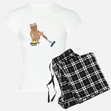 Yorkshire Terrier Curling Pajamas