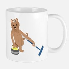Yorkshire Terrier Curling Mug