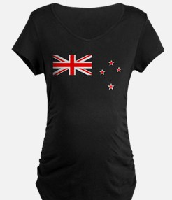 New Zealand transparent Maternity T-Shirt