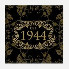 Est 1944 Birth Year Tile Coaster