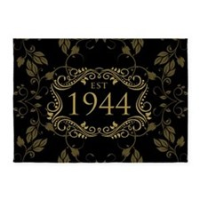 Est 1944 Birth Year 5'x7'Area Rug