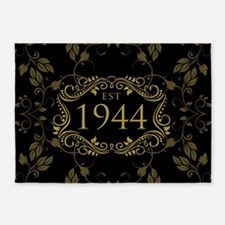 Est 1944 Birth Year 5'x7'Area Rug