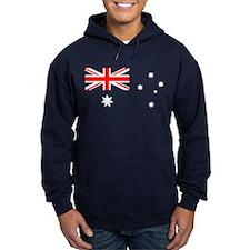 Australia flag transparent Hoody
