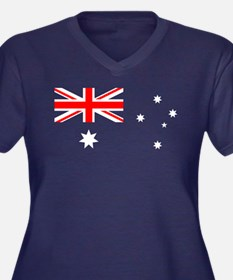 Australia flag transparent Plus Size T-Shirt
