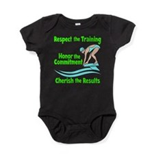 CHERISH SWIMMING Baby Bodysuit