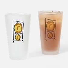 Gong Drinking Glass