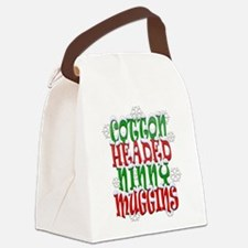cotton headed ninny blanket trans Canvas Lunch Bag