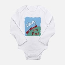 Cute Foi Long Sleeve Infant Bodysuit