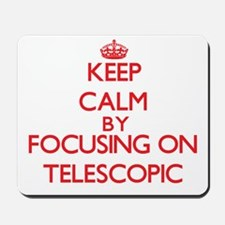 Keep Calm by focusing on Telescopic Mousepad