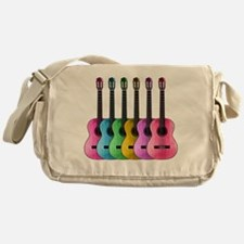 Colorful Guitars Messenger Bag