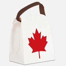 Canada flag Canvas Lunch Bag