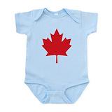 Canada flag Bodysuits