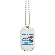 CHERISH SWIMMING Dog Tags
