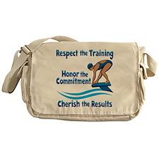 CHERISH SWIMMING Messenger Bag