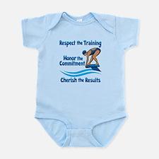 CHERISH SWIMMING Infant Bodysuit