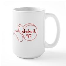Shake It Off Red Mugs