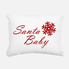 Santa Baby Rectangular Canvas Pillow