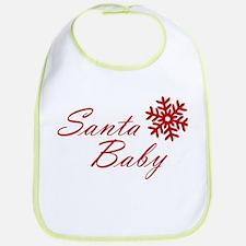 Santa Baby Bib