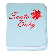 Santa Baby baby blanket