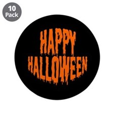 """buttons-happyhalloween.png 3.5"""" Button (10 pack)"""