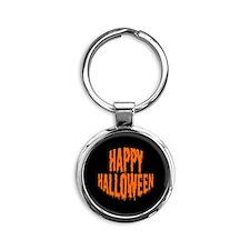 buttons-happyhalloween Keychains