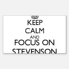 Keep calm and Focus on Stevenson Decal