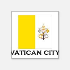 "Cute Rome Square Sticker 3"" x 3"""