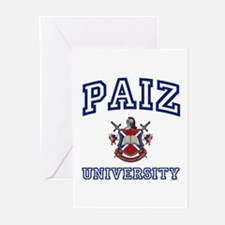 PAIZ University Greeting Cards (Pk of 10)