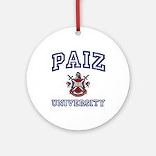 PAIZ University Ornament (Round)