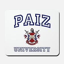 PAIZ University Mousepad