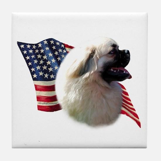 Tibby Flag Tile Coaster