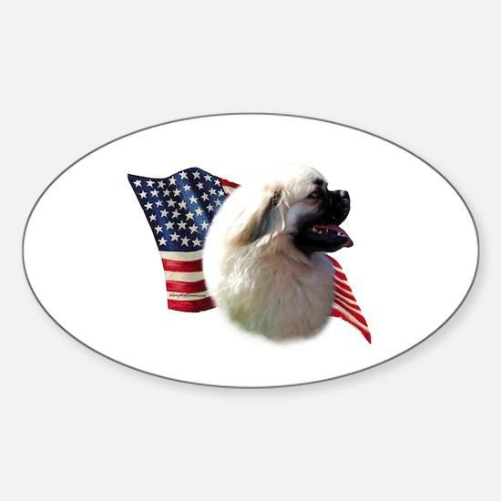 Tibby Flag Oval Decal