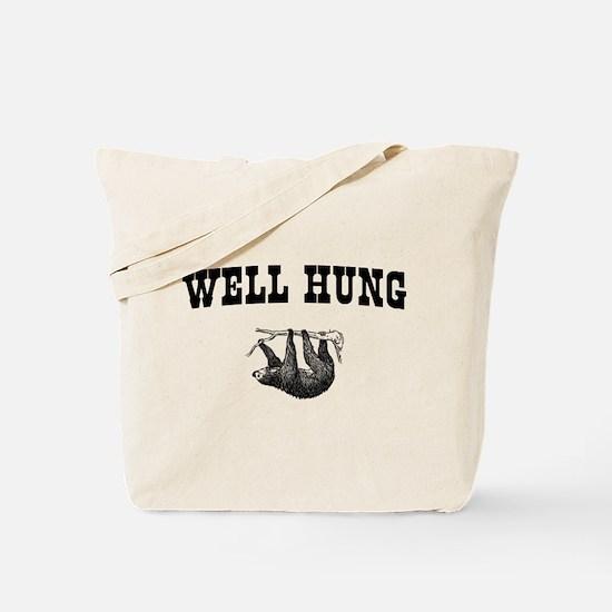 Sloth Well Hung Tote Bag