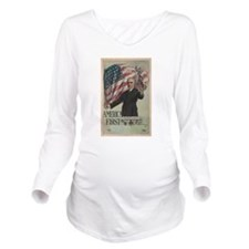Unique State elections Long Sleeve Maternity T-Shirt